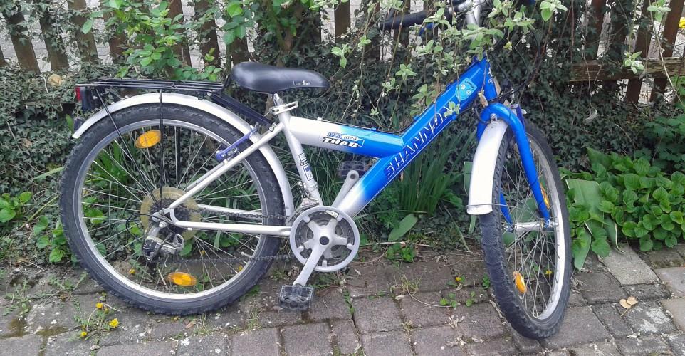 Benno und das Bike