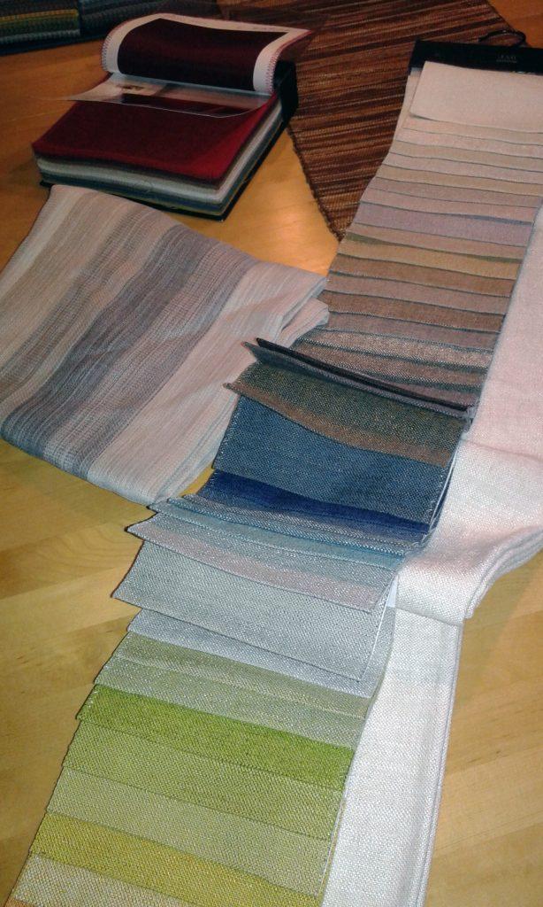 Für Kissen zu viele Farben