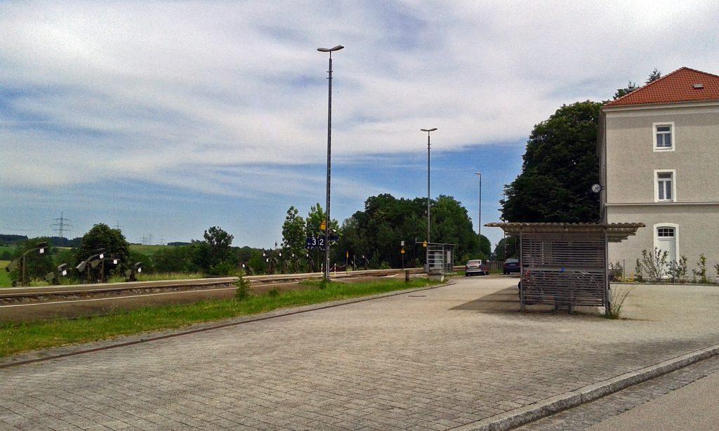 Aus allem eine Wissenschaft: Bahnhöfe der Region - Thann-Matzbach