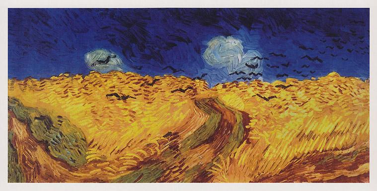 Van Gogh - Kornfeld mit Krähen