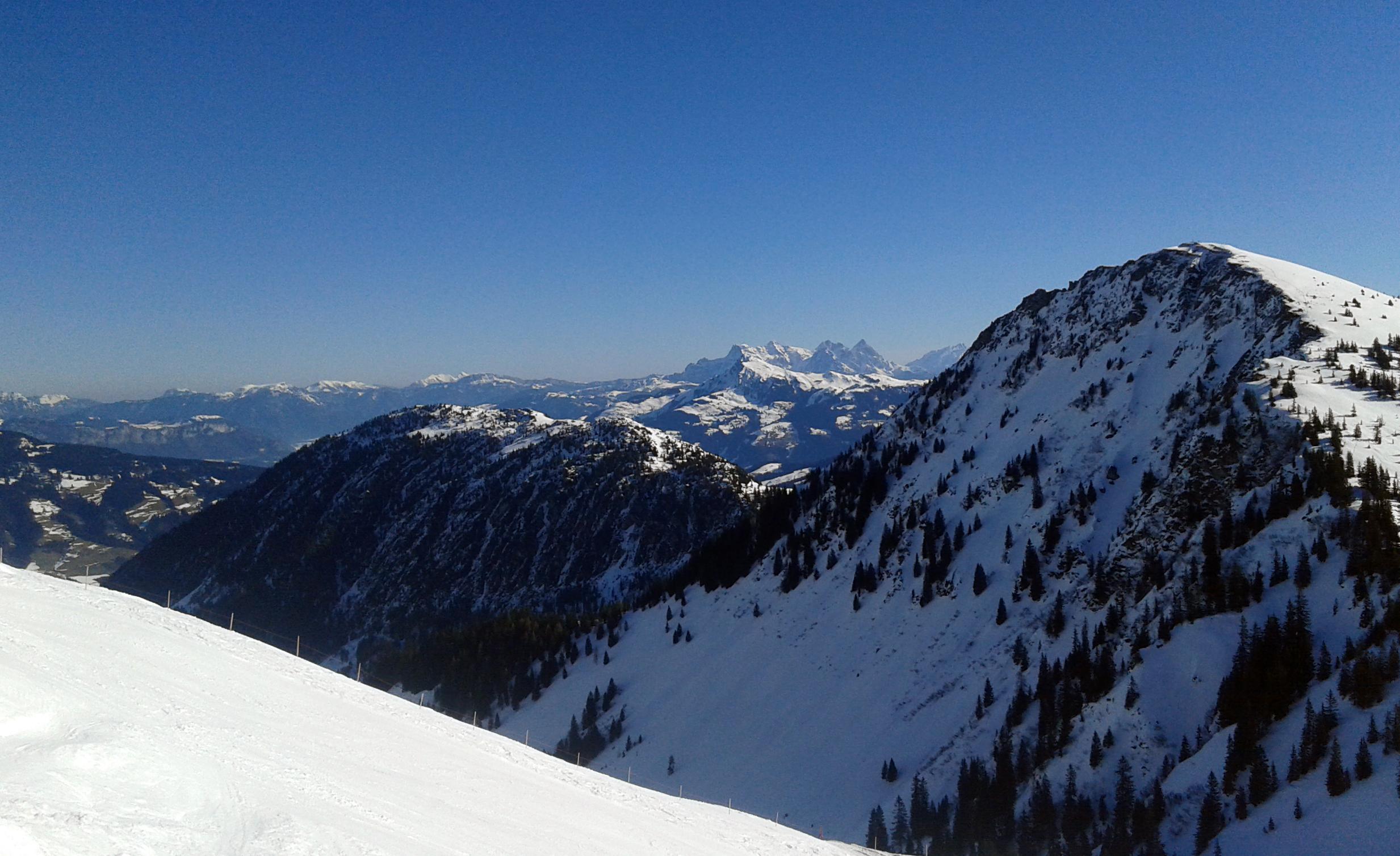Blau-weiß im benachbarten Tirol