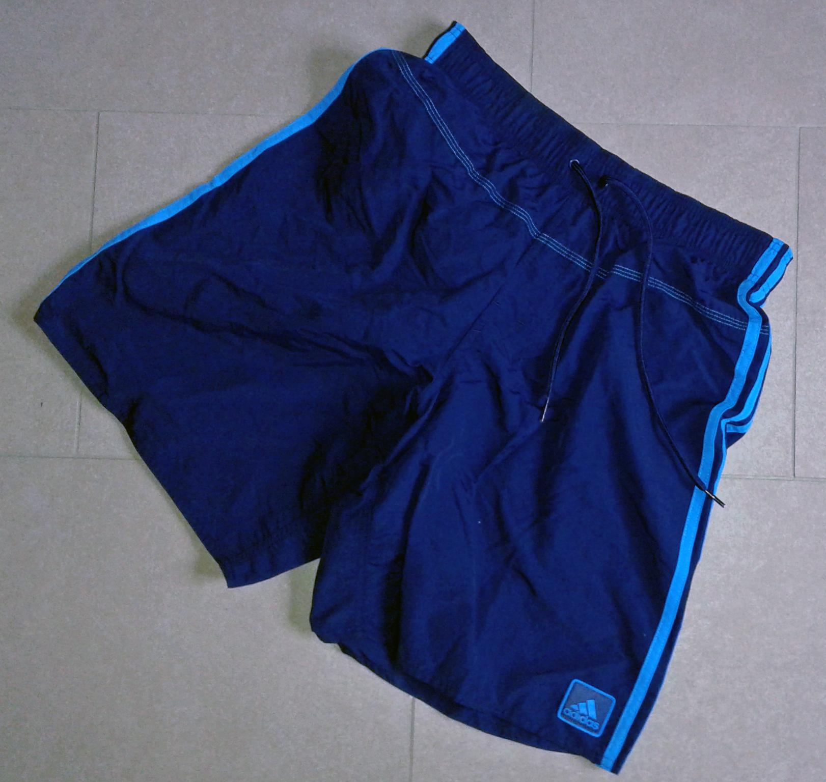 blaue-shorts