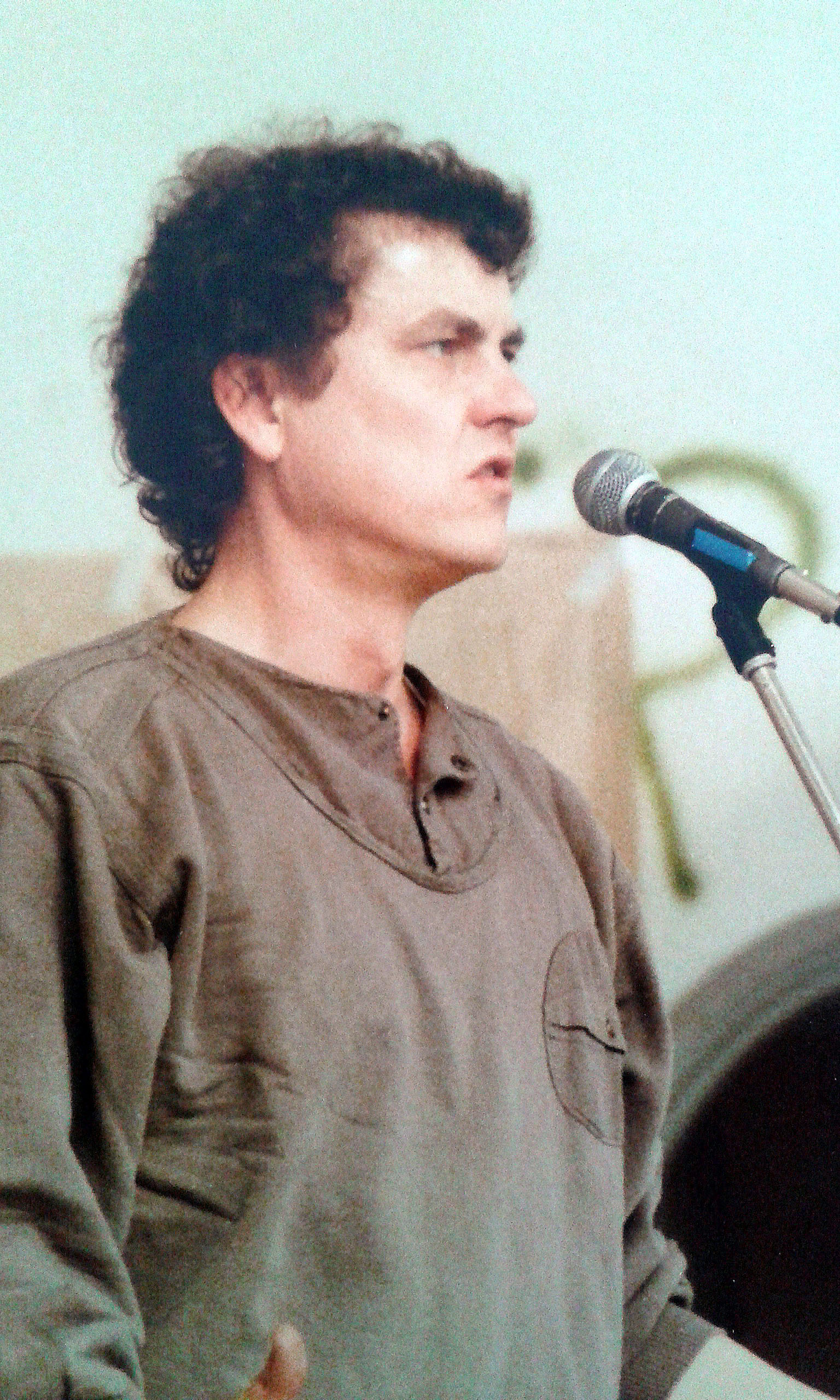 Lutz Görner rezitiert eine Ballade