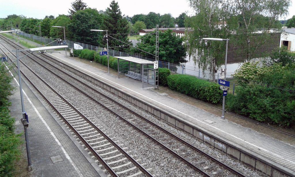 Aus allem eine Wissenschaft: Bahnhöfe der Region - Grub