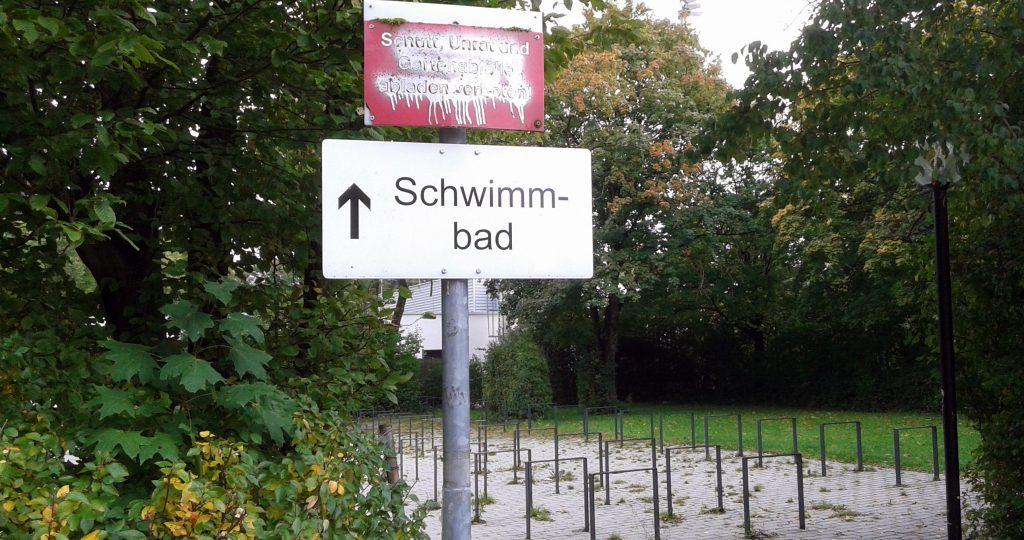 I am too old for that shit - auch fürs Babyschwimmen
