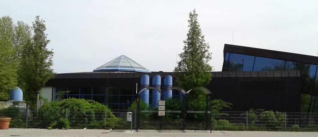 Noch mal Halle - Schwimmbad Erding