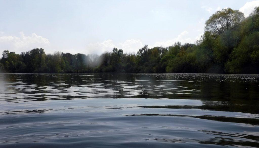 Fliegender Wechsel ins Freiwasser