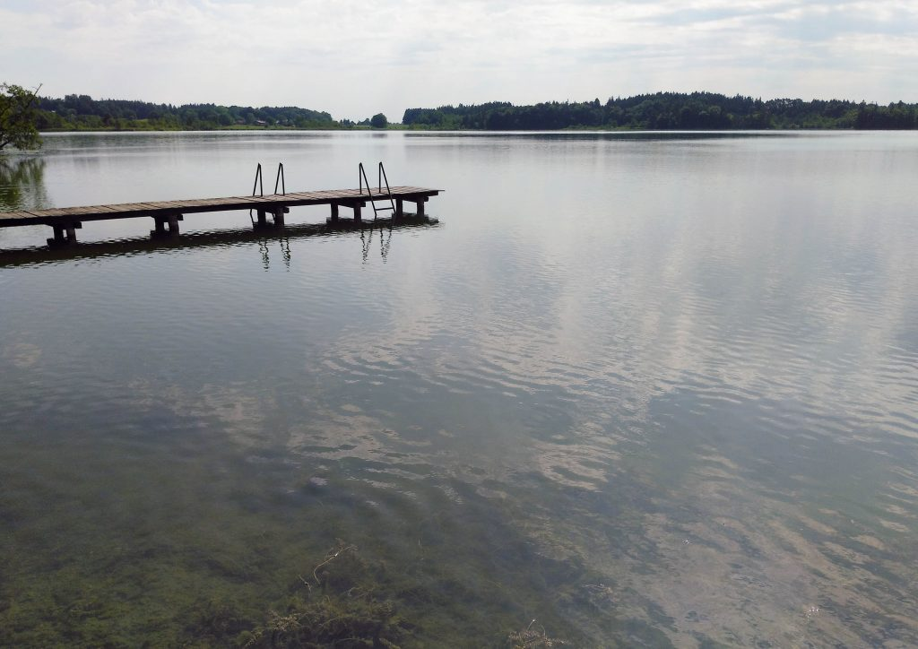 Pelhamer See - Badesteg