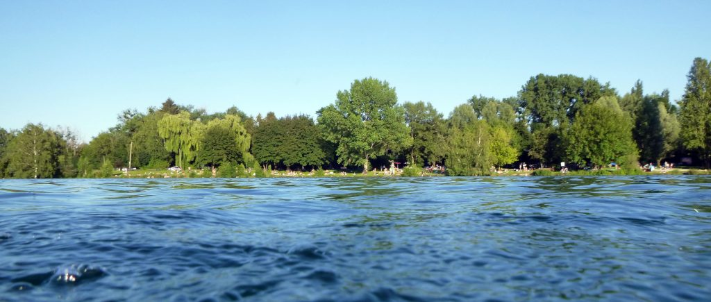 Das Ostufer vom Feldmochinger See