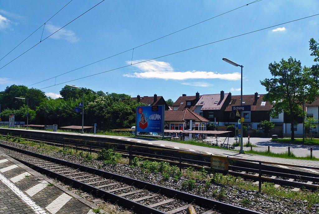Eching Bahnhof - auf der Jagd zum zweiten Prozent