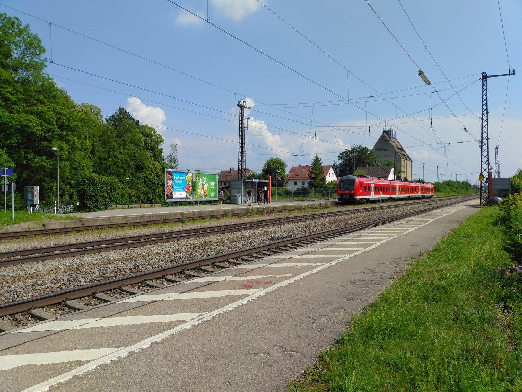 Gersthofen Bahnhof - auf der Jagd zum zweiten Prozent