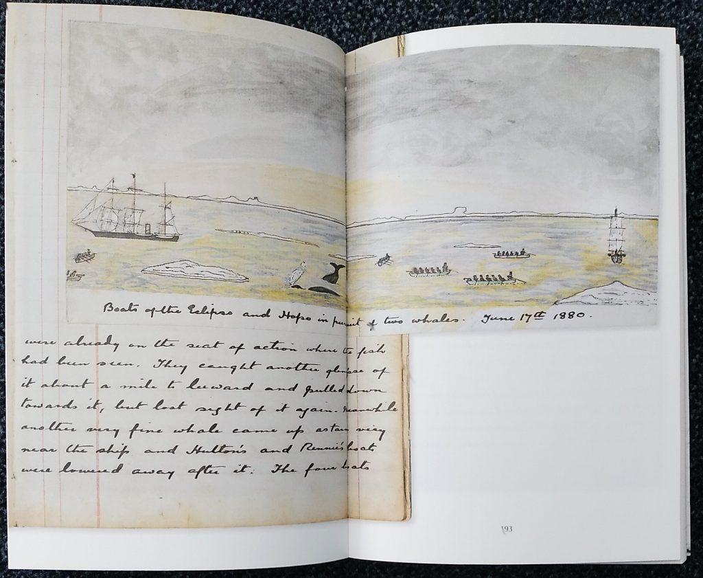 Faksimile des Originaltagebuchs von Arthur Conan Doyle