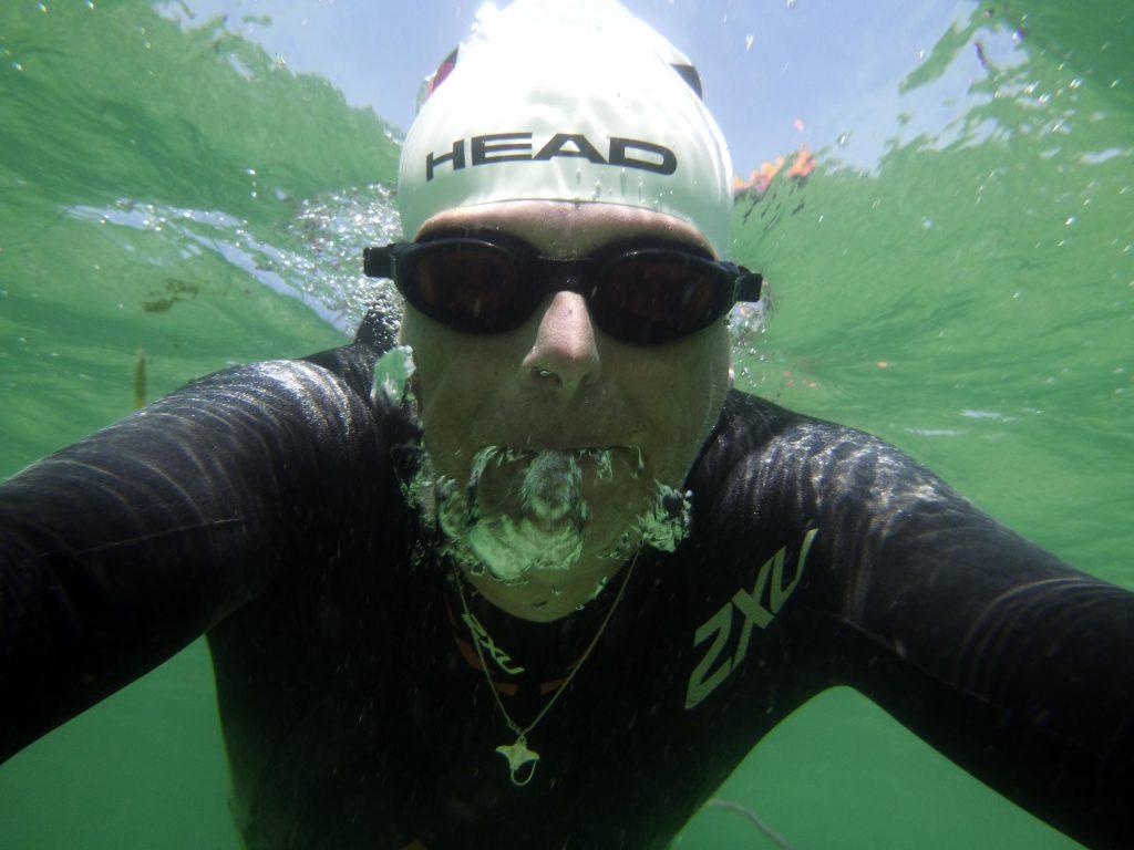 Selfie im Ärmelkanal Wasser
