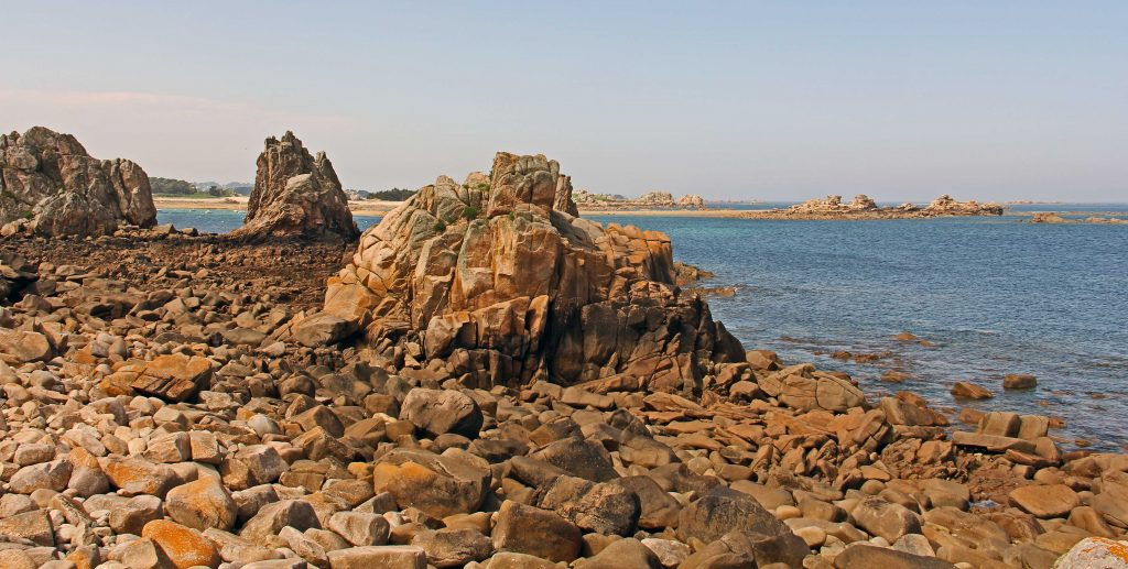 Am Gouffre - Granitküste