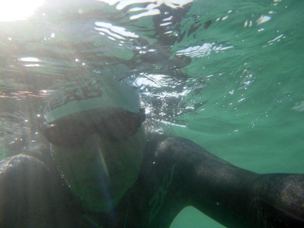 Tegernsee - Nur noch im Neo schwimmbar