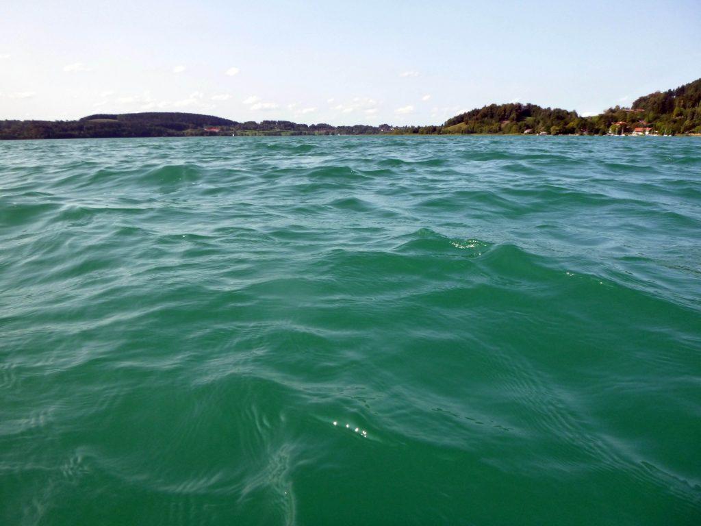 Tegernsee - türkisfarbenes Wasser