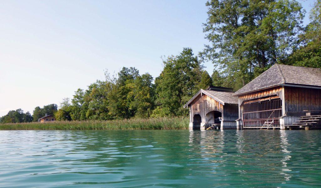 Tegernsee - Bootshäuser
