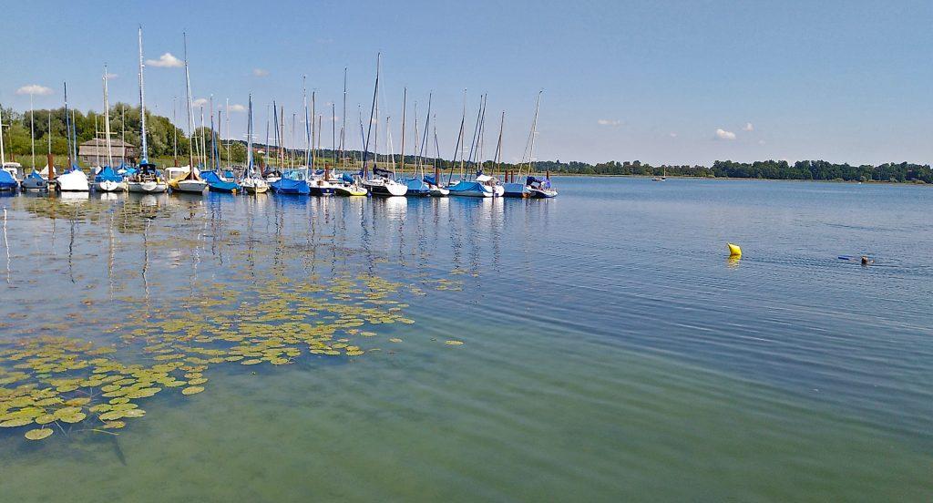 Segelboote in der Schafwaschener Bucht