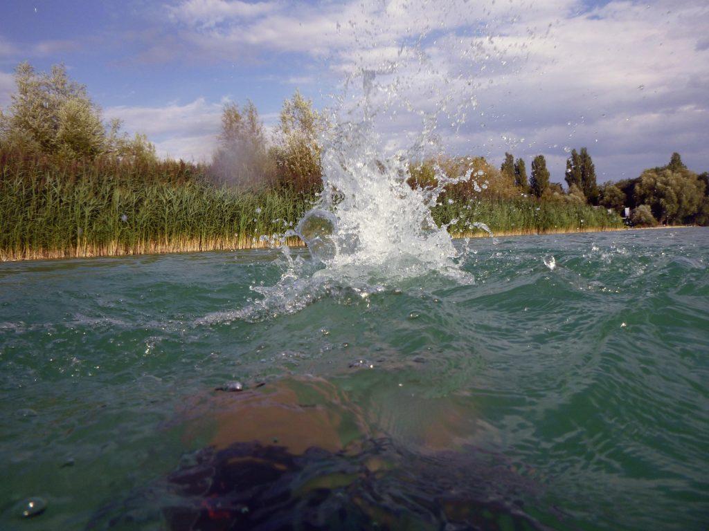 Wasserkatapult