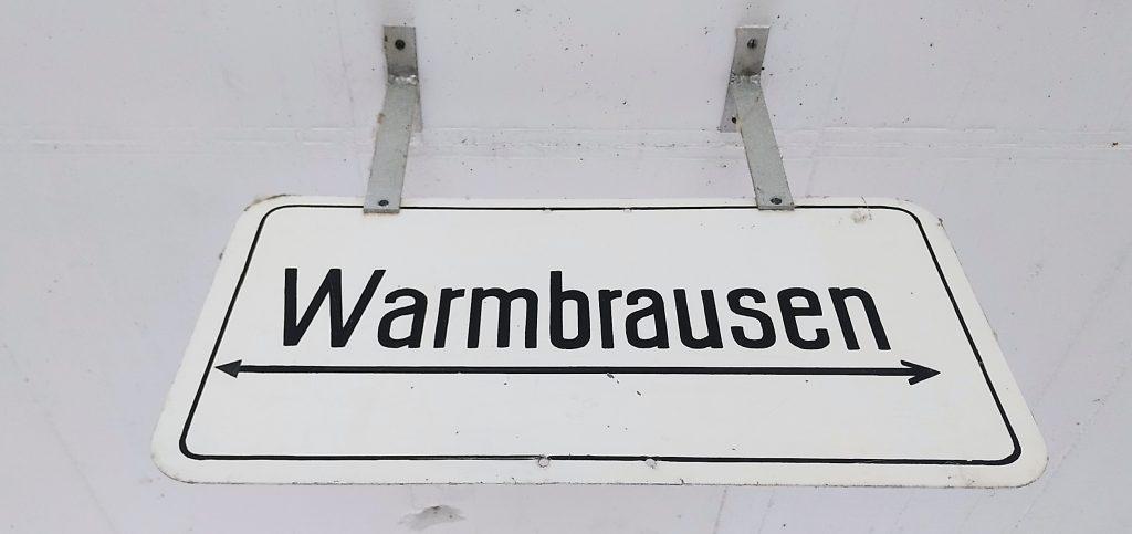 Warmbrausen - ich komme