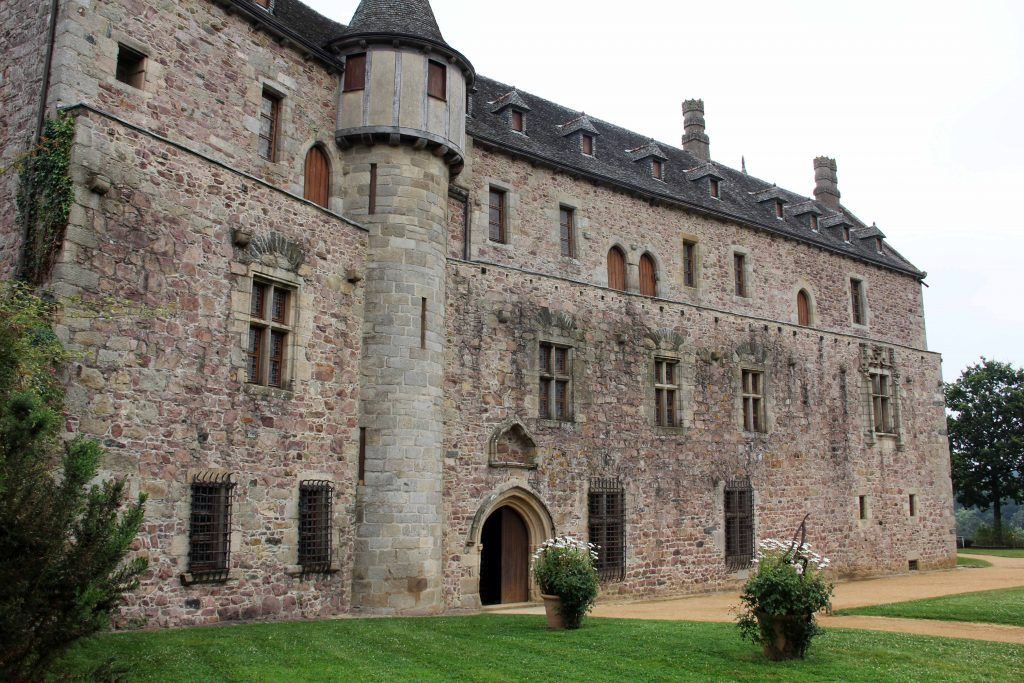 La Chateau la Roche Jagu - ein Wehrschloss