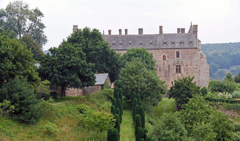 La Chateau la Roche Jagu - zauberhaft