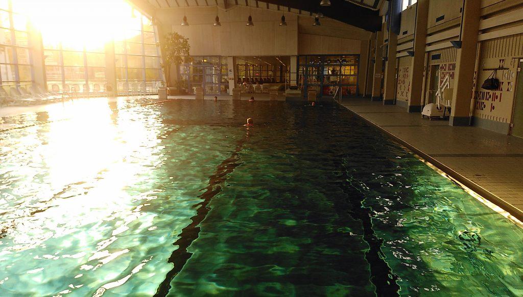 Leere Bude - Erdinger Schwimmbad