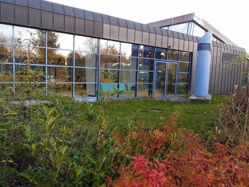 Novemberglück im Schwimmbad - die Bude ist nicht so voll wie befürchet
