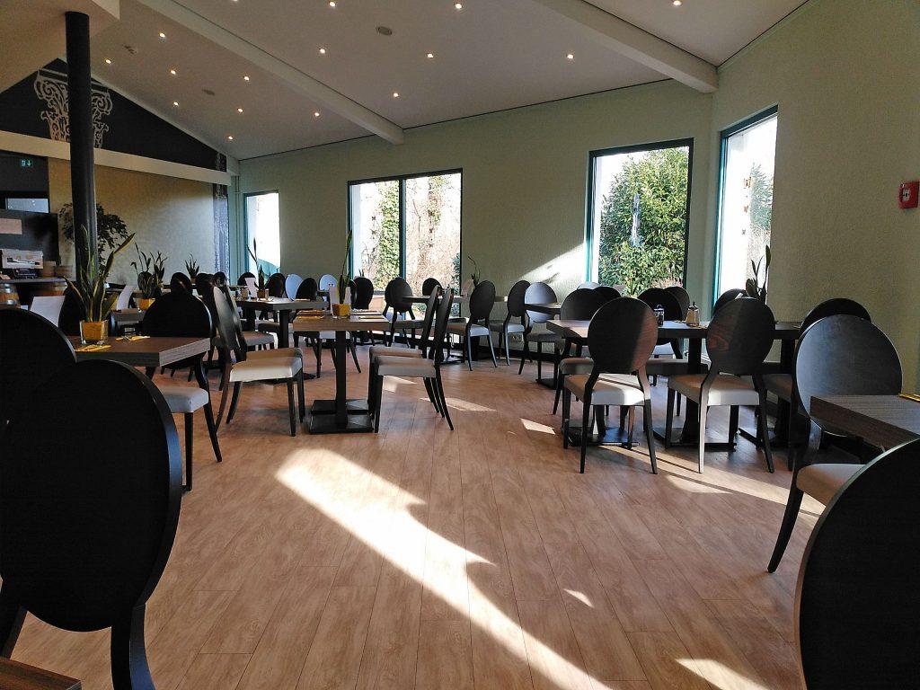 Frühstücksraum im Hotel in Speyer