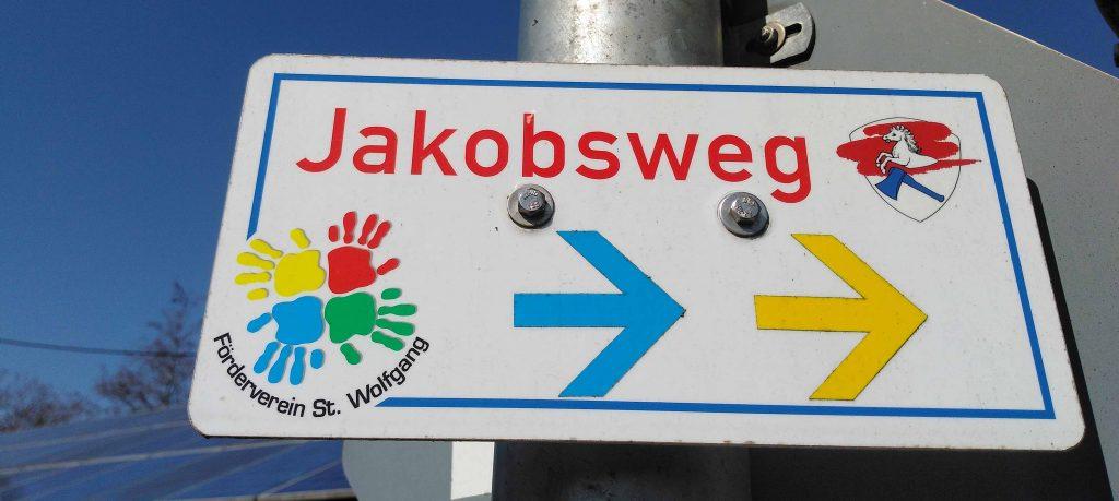 Auf dem Jakobsweg - Wegweiser