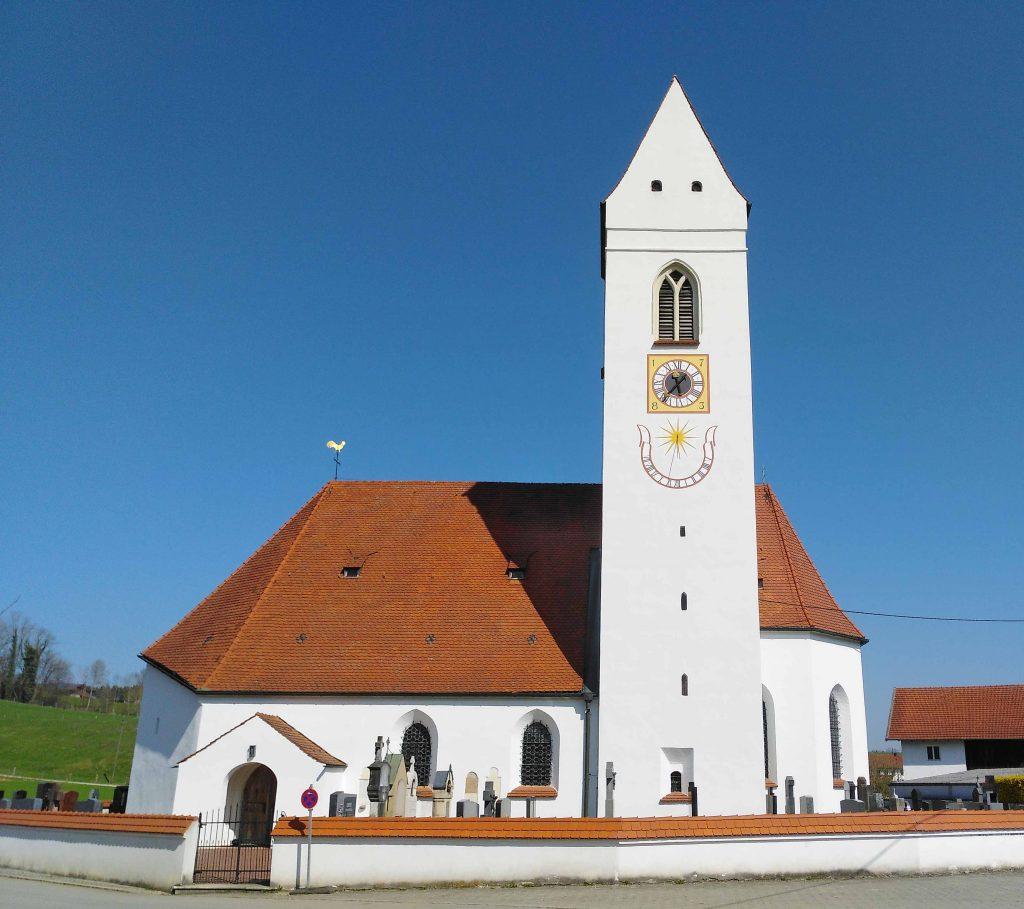 Auf dem Jakobsweg - Schwindau, Dorfkirche