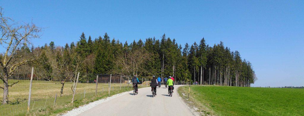 Auf dem Jakobsweg - E-Biker
