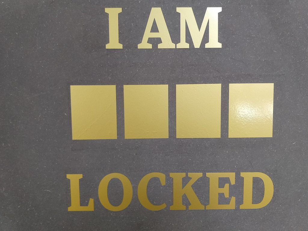 I AM #### LOCKED