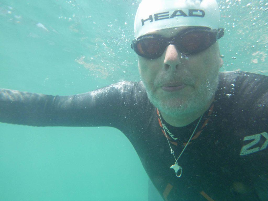 Kopf unter Wasser - arschkalt
