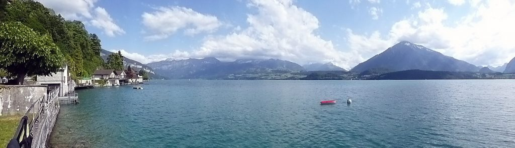 Panorama am Thuner See