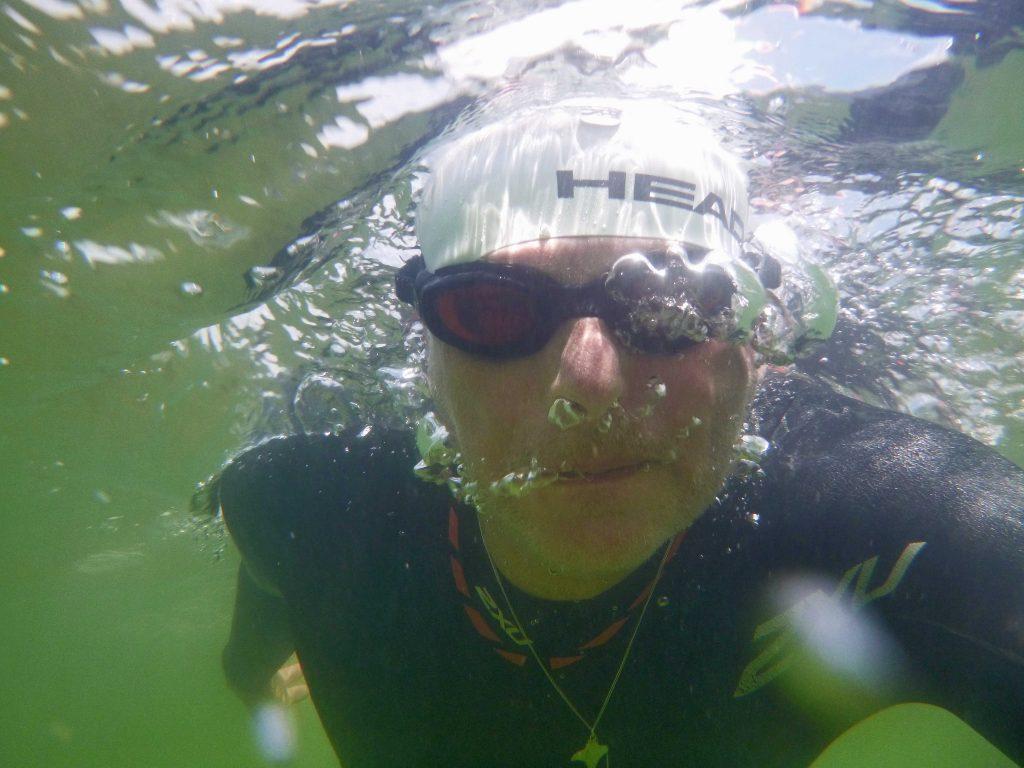 Weiteres Unterwasserselfie bei Chieming