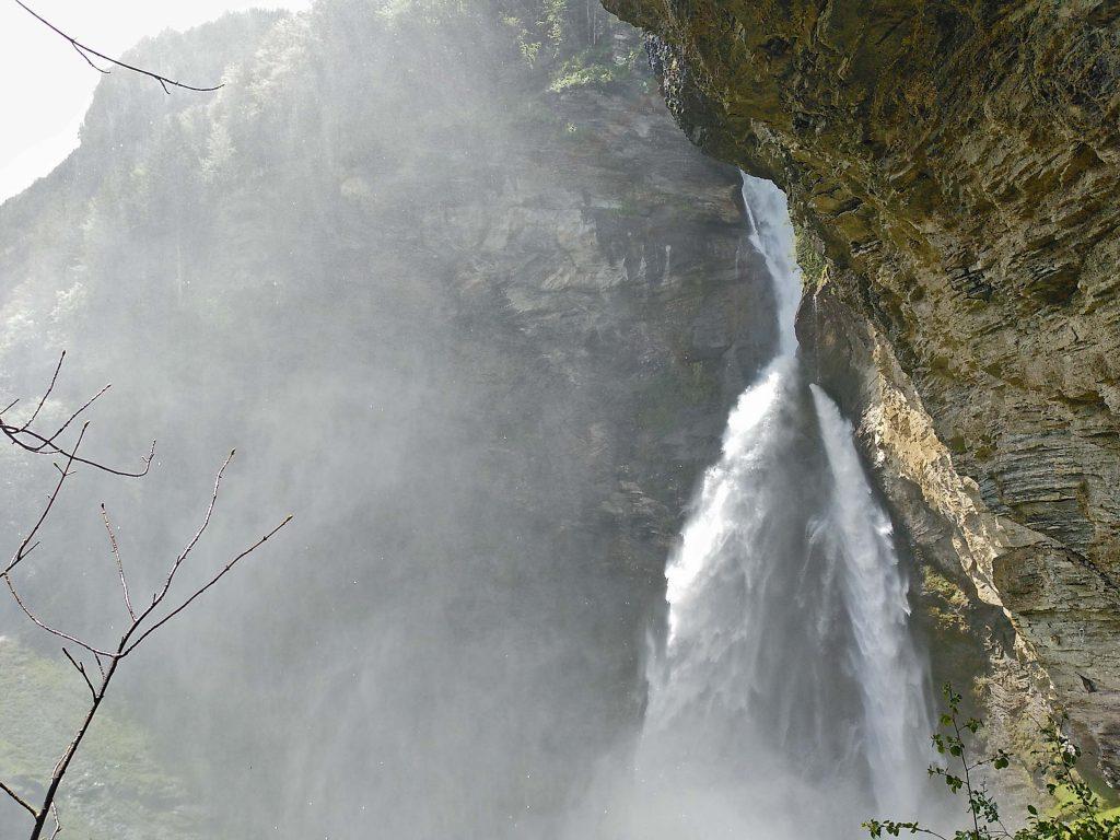 Beeindruckender Wasserfall