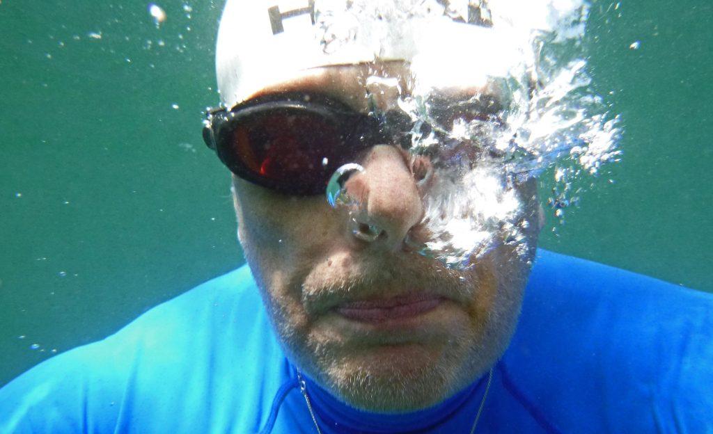 Unterwasser im See von Riem