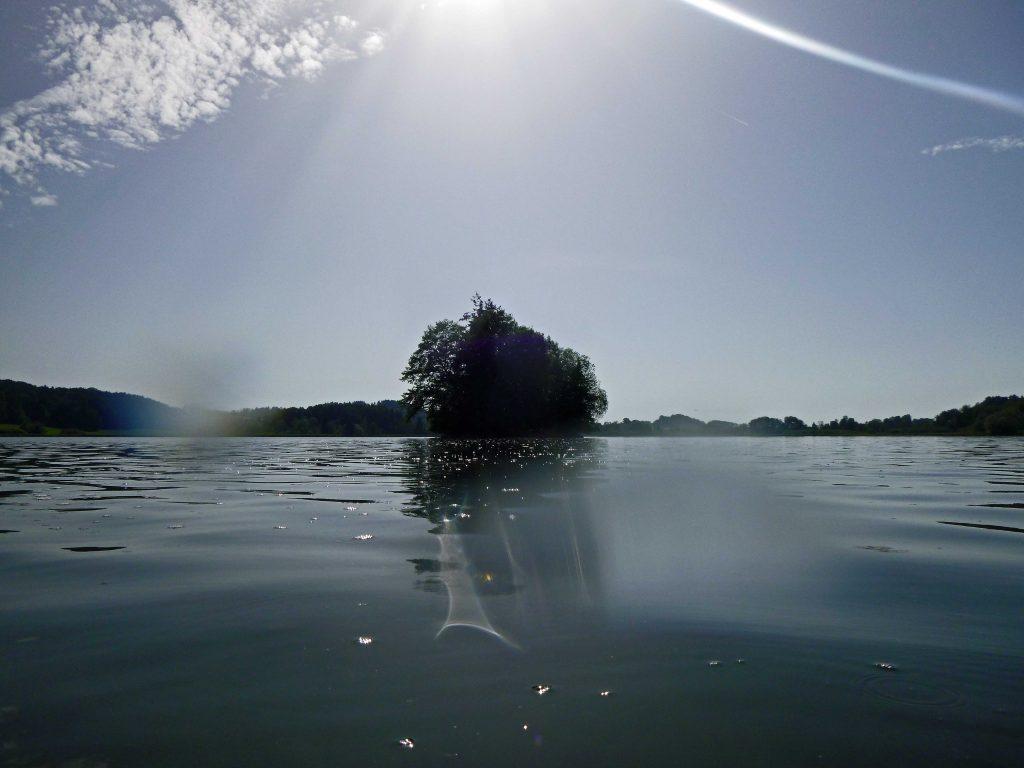 Die dritte Insel im Gegenlicht