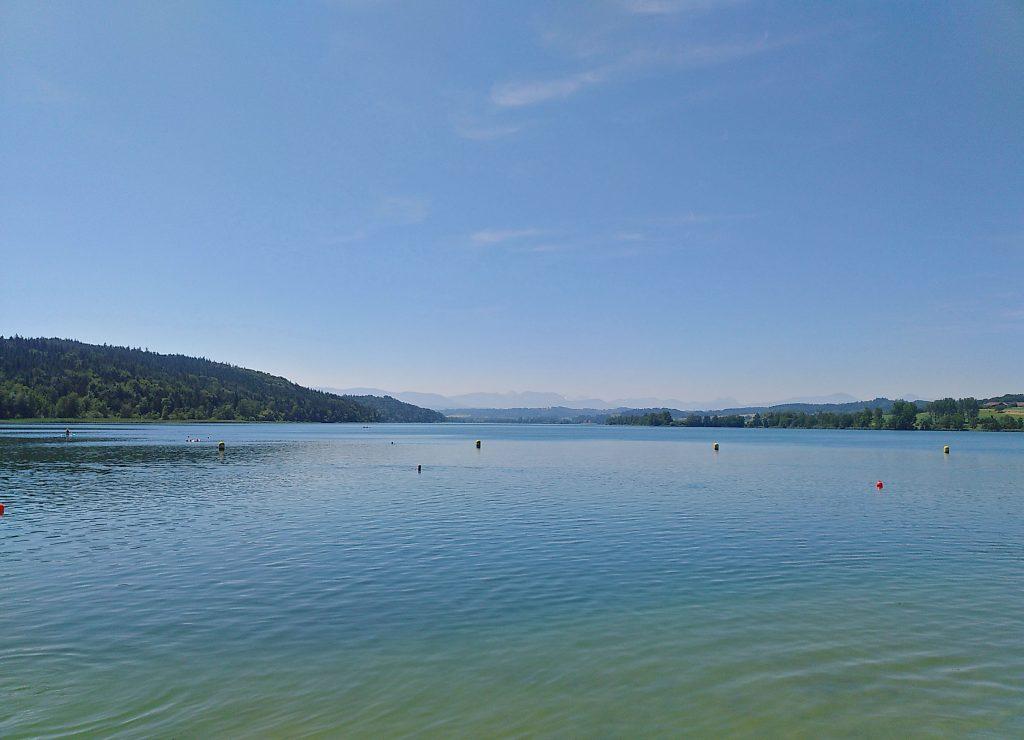 Der Tachinger See - von Norden aus