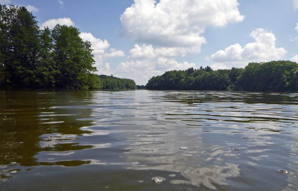 Schaut mehr nach Fluss als nach See aus.