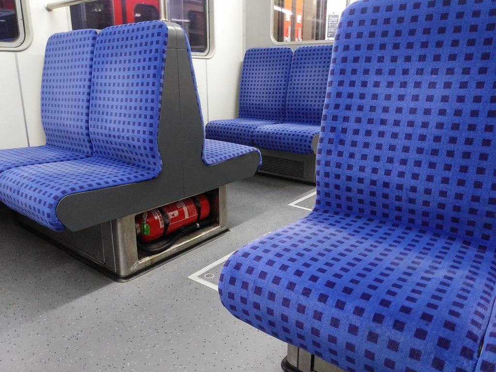 Gähnende Leere in der S-Bahn