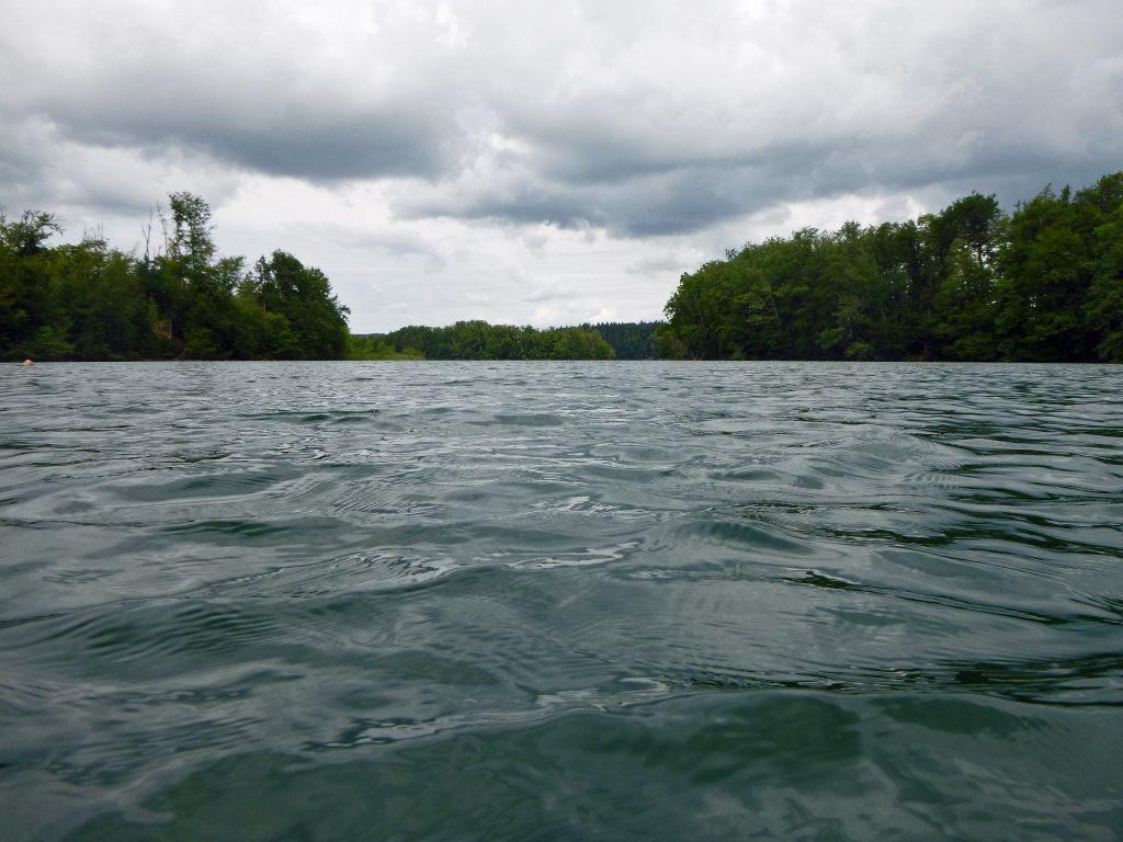 Langbürgner See - aus der Bucht im Süden heraus