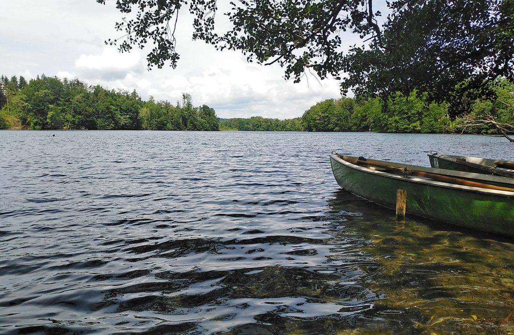 Langbürgner See - der Titelverteidiger von Süden her