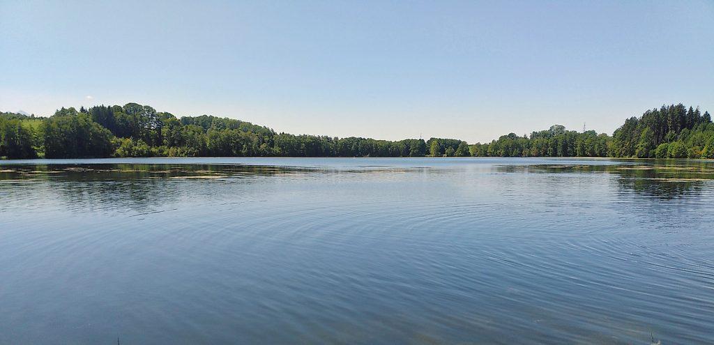 Tinninger See von Ost nach West