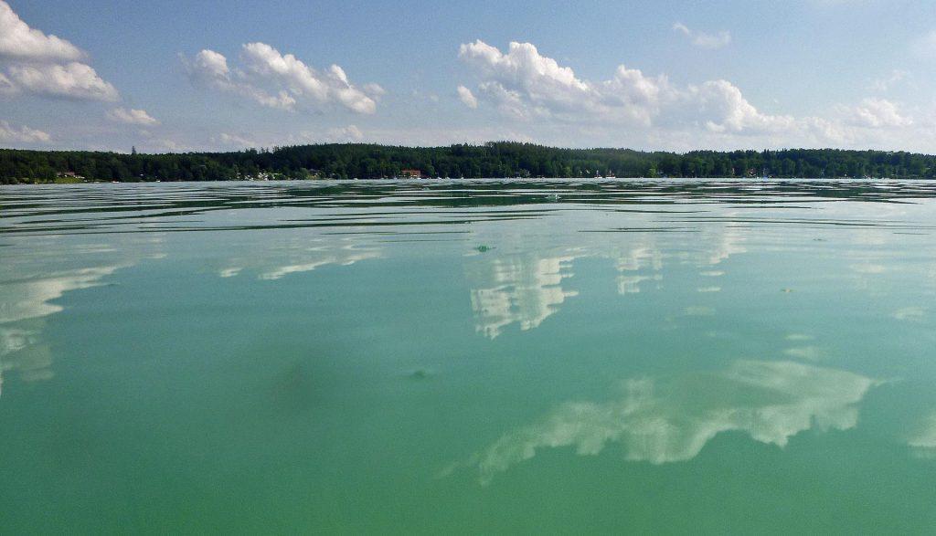 Wörthsee - türkisgrünes Wasser