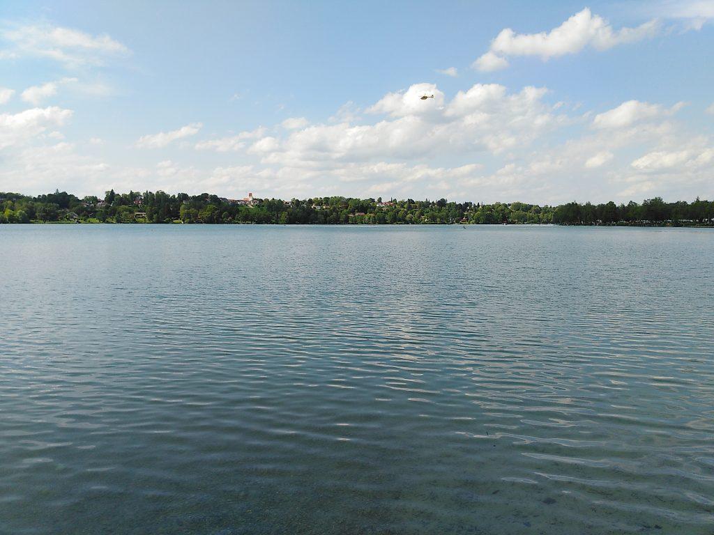 Pilsensee - Blick nach Hechendorf