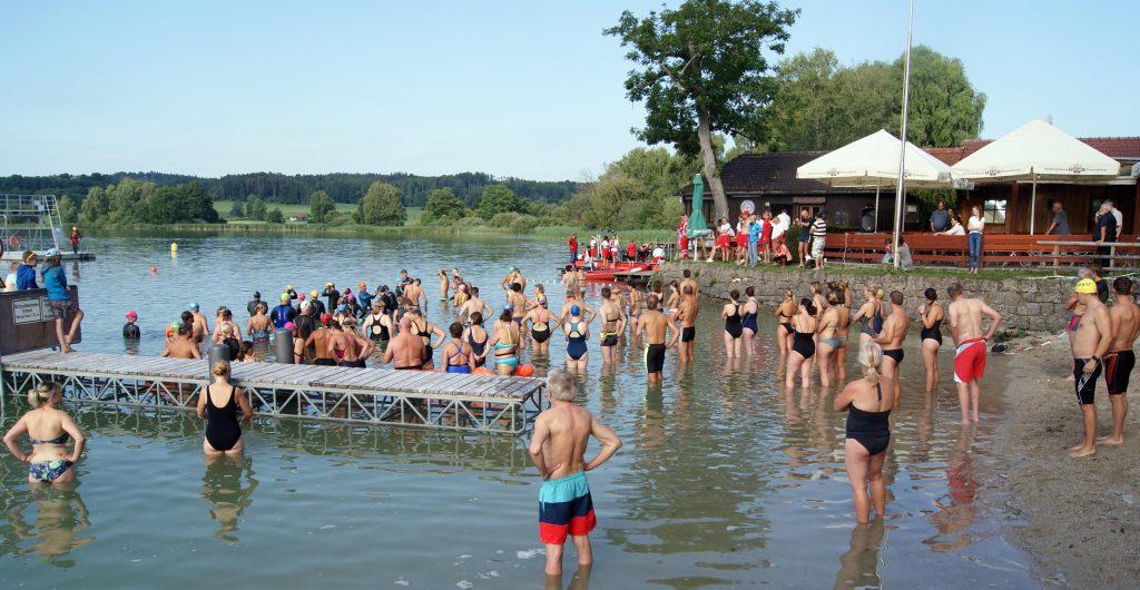 Volksschwimmen Tachinger See: Instruktionen für die Teilnehmer