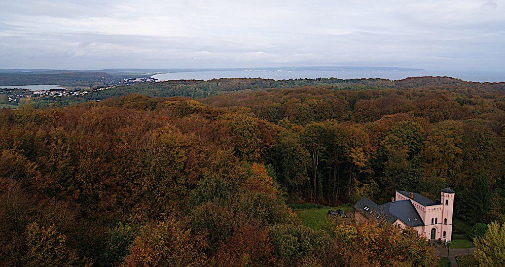 Der Wald, die Insel - Rügen vom Turm aus - Blick Richtung Binz