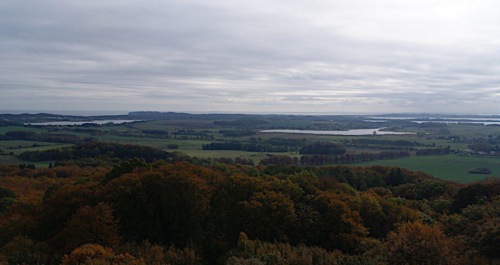 Der Wald, die Insel - Rügen vom Turm aus - Blick nach Süden